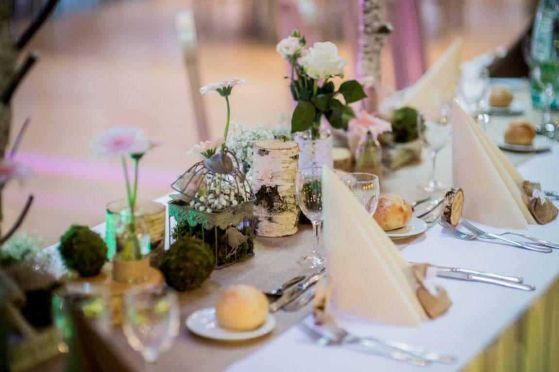 Decoration florale table de mariage-photographe mariage Nancy Metz Verdun Epinal-www.gregory clement.fr