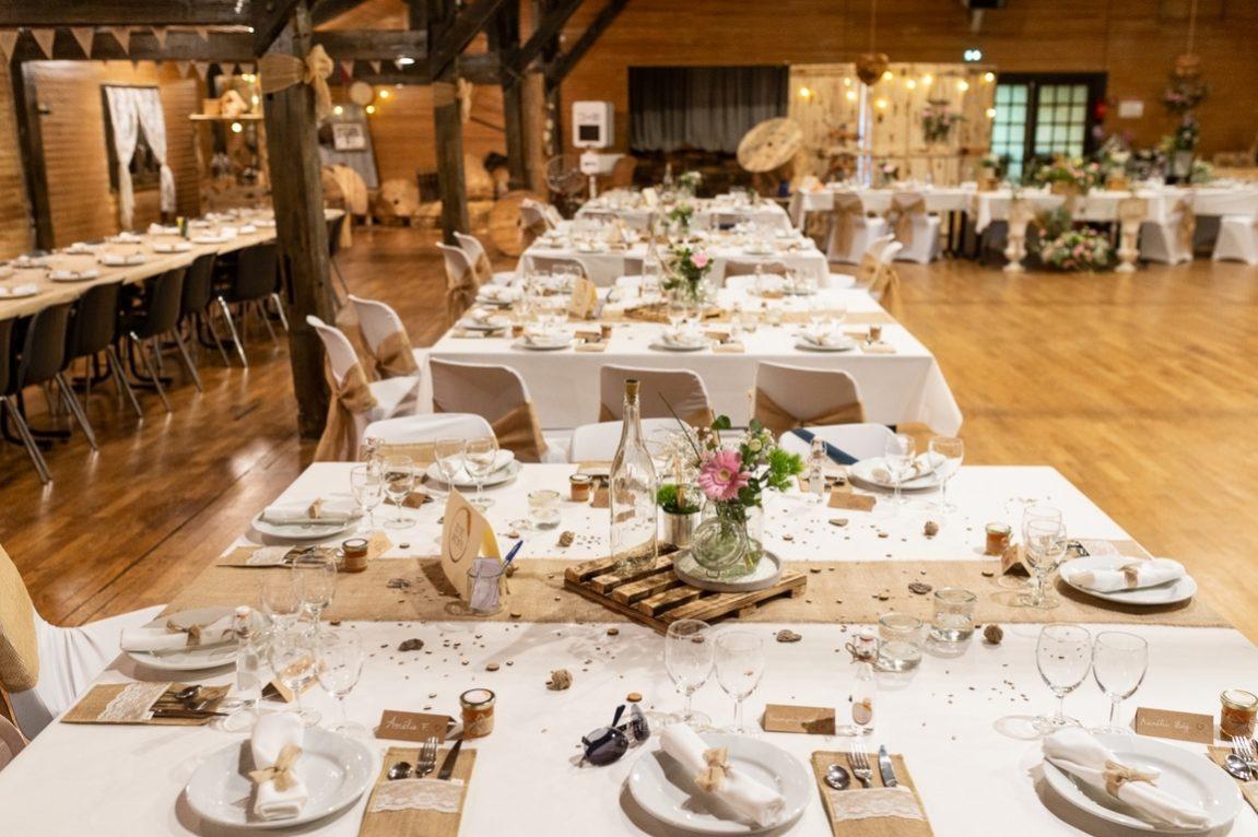 Decoration salle de mariage-Mariage en Meuse- photographe Neufchateau Vosgeswww.gregory clement.fr