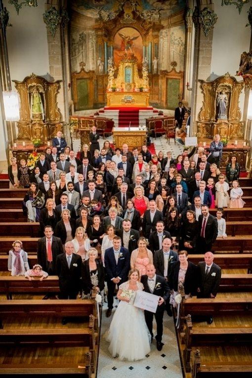 photo de groupe mariage Mondorf Les Bains Luxembourg- photographe Nwww.gregory clement.fr
