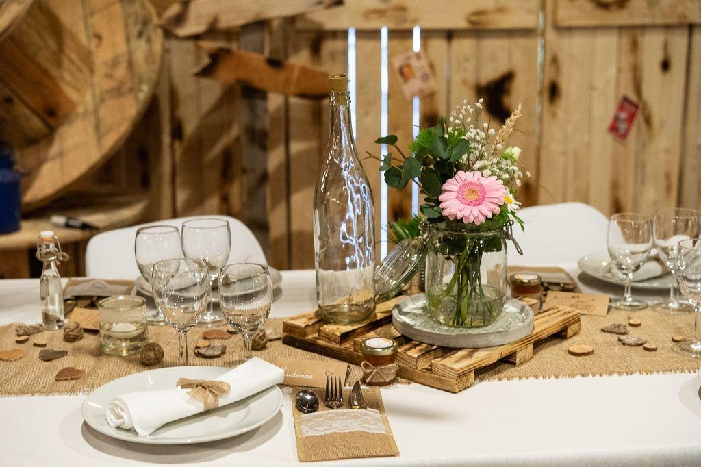 Photographe Moselle Metz Décoration bois salle mariage mariage Meuse Bar le Duc Nancy ®gregory clement.fr
