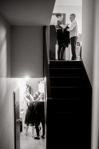 Photographe Toul preparatifs mariage en noir et blanc Lorraine Grand Est France ®gregory clement.fr