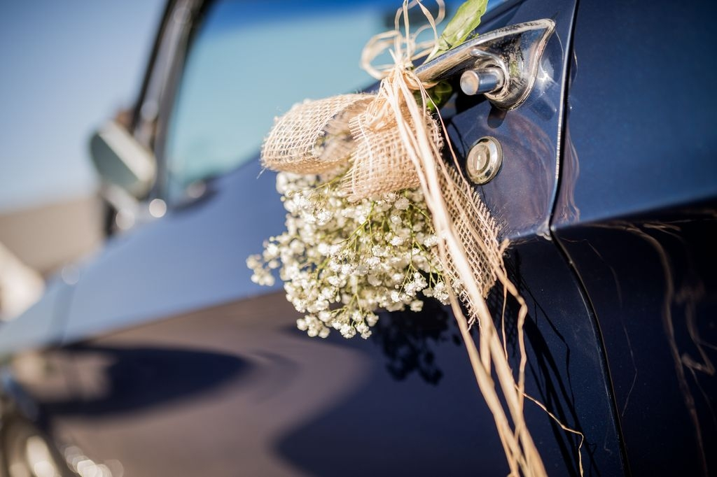 Photographe mariage Metz Moselle Decoration voiture mariage ®gregory clement.fr