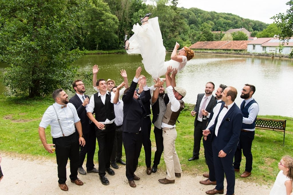 Photos de groupe mariage photographe Neufchateau Vosges Domaine du Fayel Landaville ®gregory clement.fr