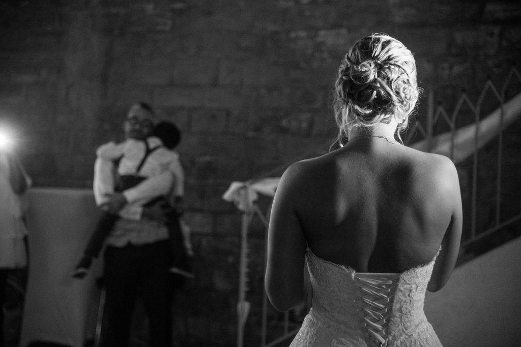 Photos de mariage Metz Moselle Discours de la mariée en noir et Blanc ®gregory clement.fr