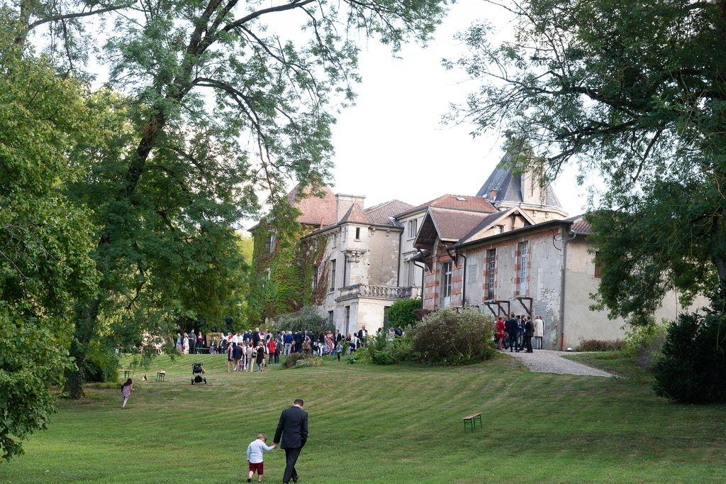 Vin dhonneur au Chateau de Tannoy Photographe mariage Metz Moselle France ®gregory clement.fr